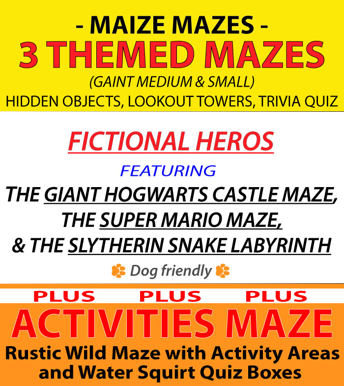 An image showing 2021 Elton Giant Mazes Themes